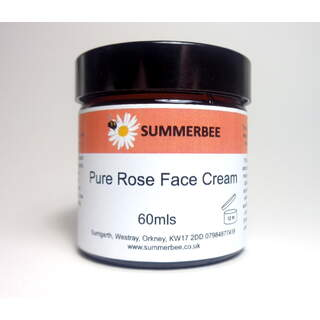 Pure Rose Face Cream 60mls